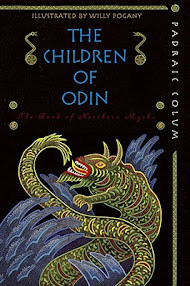 Cover of Padraic Colum's Book The Children of Odin The Book of Northern Myths