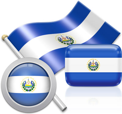 Salvadoran flag icons pictures collection