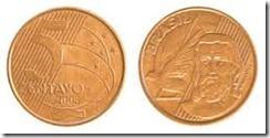 CINCO centavos
