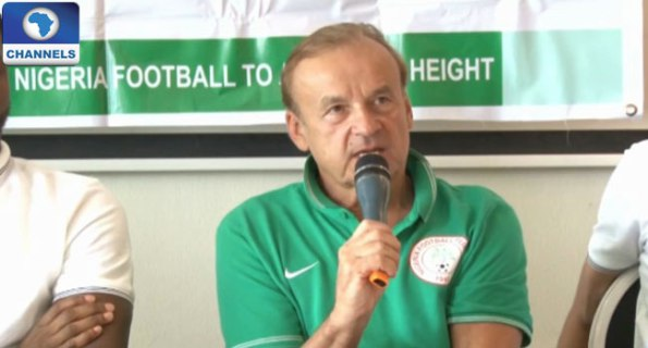 Super Eagles Coach, Rohr, Releases 30-Man List For FIFA World Cup 2018
