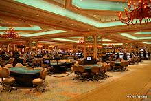 The Venitian Macao : salle de jeu