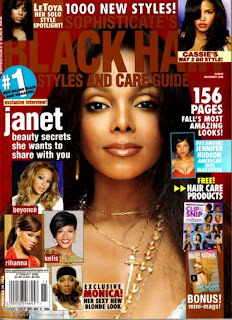 Celebrity Hairstyles Magazine Cover