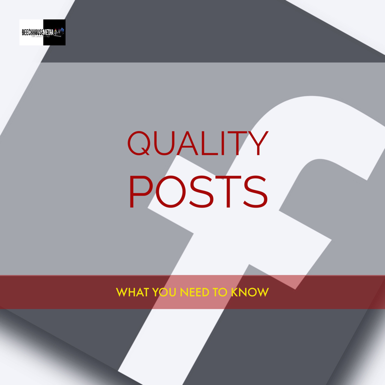 create quality posts on Facebook