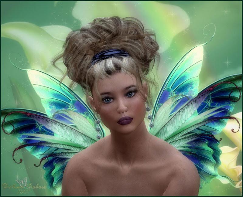 Green Magical Fairy, Fairies Girls