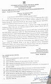 Assignment Of Charge - Administration Of Union Territory Of Ladakh (08-Aug-2020)