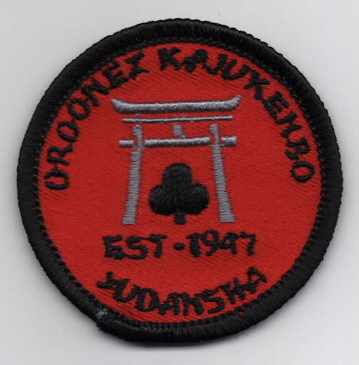 OKO black belt patch