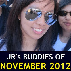 JR's Buddies of November 2012