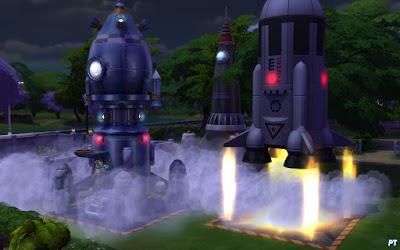 De Sims 4 raketvaardigheid rakketten