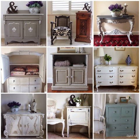 Lilyfield Life hand painted french furniture Sydney
