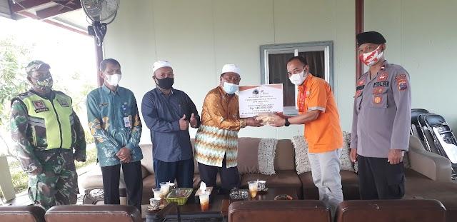 Ustaz M. Hasin: Bantuan Dana Arutmin Kintap Percepat Pembangunan Masjid Al-Muhajirin