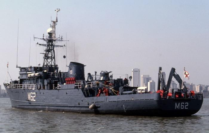 INS Porbandar - M62 - Pondicherry-class Minesweeper - Indian Navy - 01 - TN