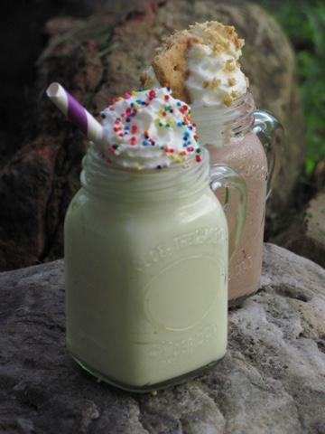 Moonshine In A Mason Jar S More Birthday Cake Pudding Shots