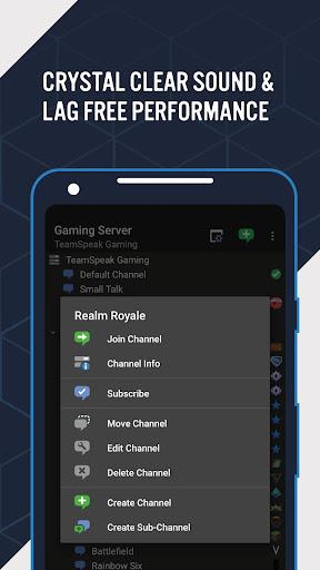 TeamSpeak 3 - Voice Chat Software  screenshots 3