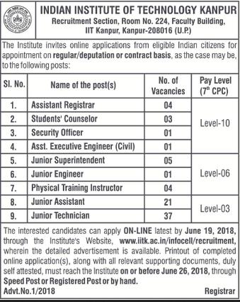 [IIT+Kanpur+Notification+2018+indgovtjobs%5B3%5D]