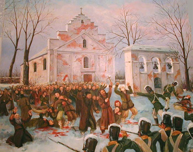 The martyrs of Pratulin