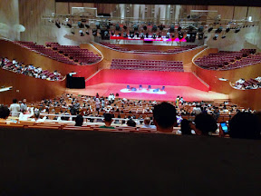 Oriental Arts Center Shanghai 25 minutes to the show
