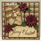 CH0139F Old World Santa CH0147E Merry Christmas Curved
