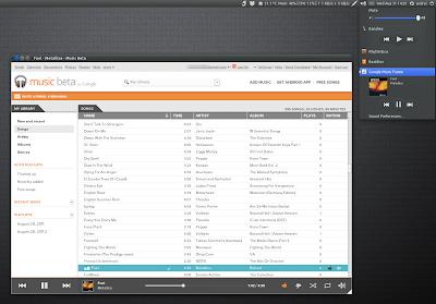 Google Music Frame