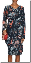 Vivienne Westwood Anglomania printed crepe dress