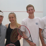 2016 State Parent-Child Doubles: Champions - Chris Spahr & Caroline Soahr; Finalists - Cole Koeppel & Seth Koeppel