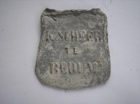 Naam: K. ScheerPlaats: BedumJaartal: 1900