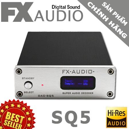 dac nghe nhac hay fx audio sq5