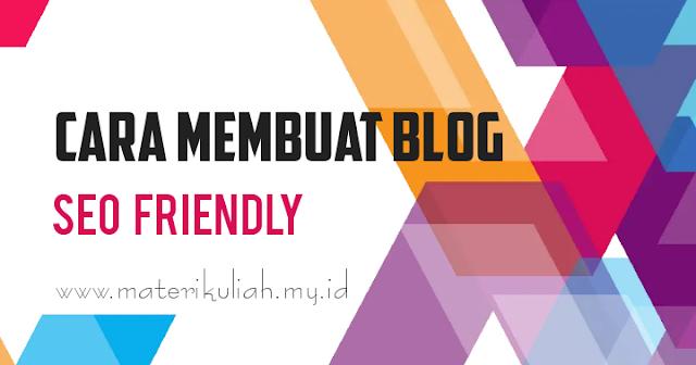 Cara Modif Blog Menjadi Seo Friendly Agar Seo On-Page Lebih Optimal