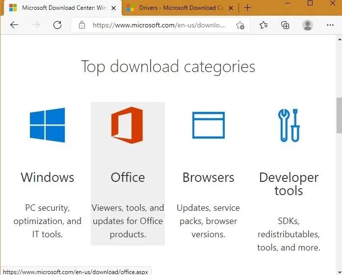 مواقع التنزيل الآمن Microsoft Dot Com