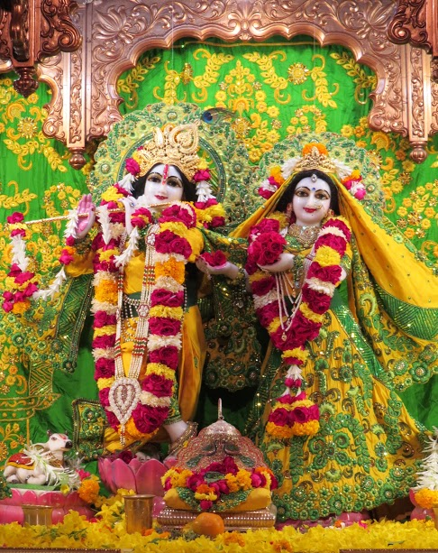 ISKCON Vallabh vidhyanagar Deity Darshan 11 jan 2017 (2)