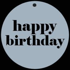 Deco - Happy birthday