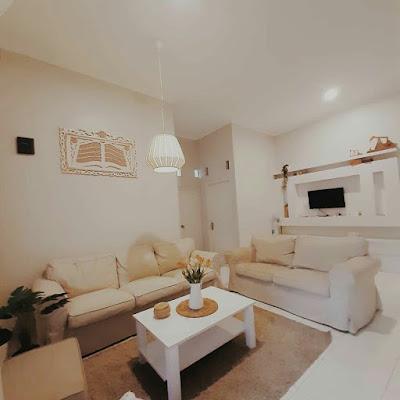 Dekorasi ruang keluarga sempit