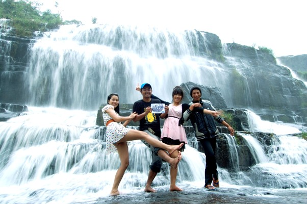 WE ARE HERE! PONGOUR WATERFALL