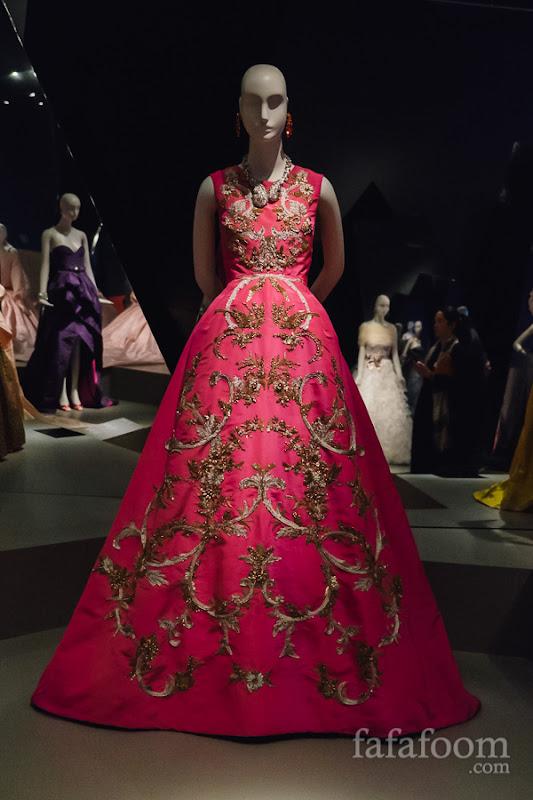 Oscar de la Renta, Evening dress, Fall 2013.