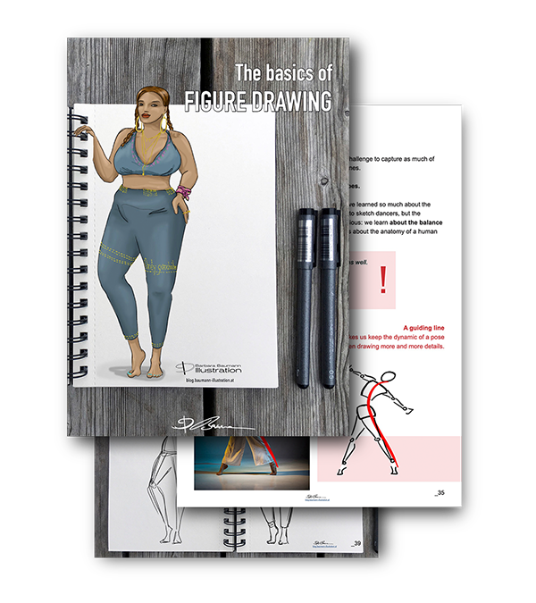 Learn The Basics Of Figure Drawing A 54 Page Ebook With Clear Step By Step Guidelines