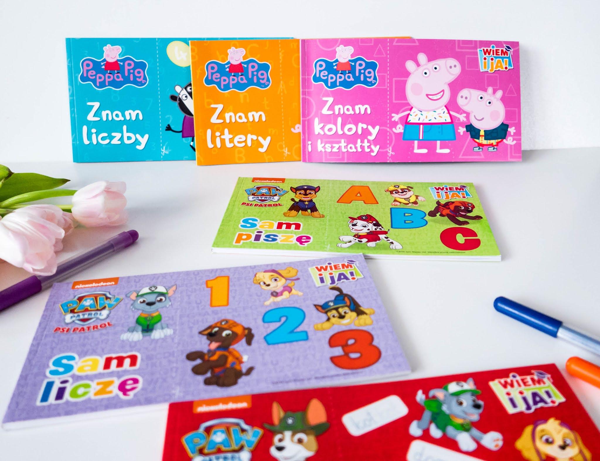 edukacyjne książeczki dla maluchów