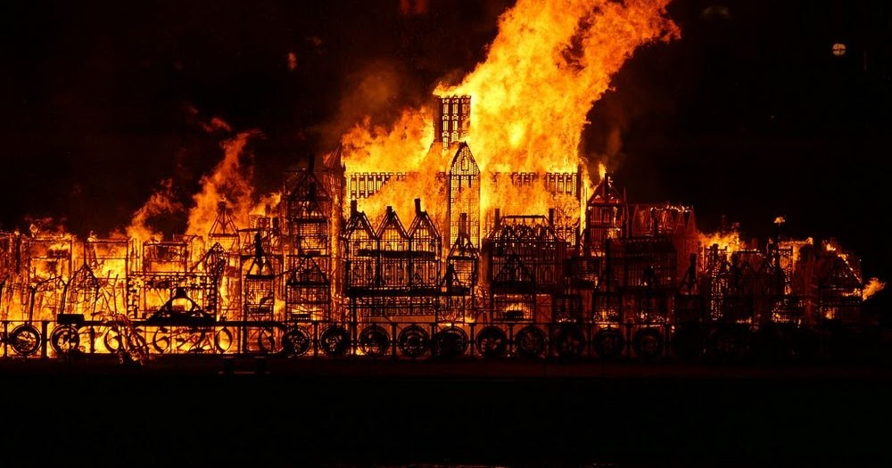 The Great Fire Of London: Now A Fun Experience For All The ... |Impressionist Fire London