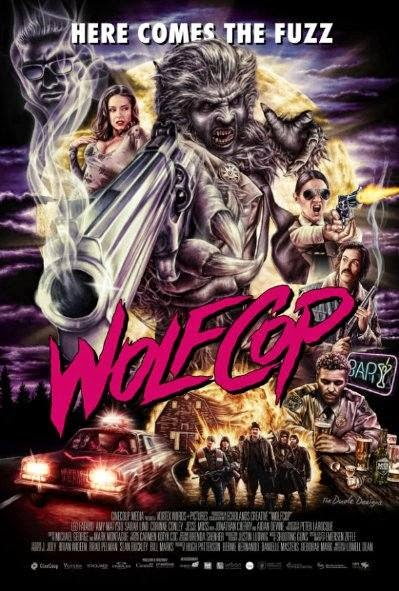 Poster Of English Movie WolfCop (2014) Free Download Full New Hollywood Movie Watch Online At Alldownloads4u.Com