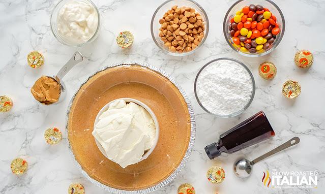 reese's cheesecake ingredients