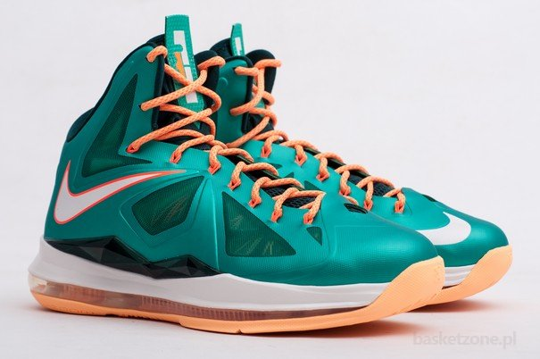 best service c753e c677e Gallery Nike LeBron X 8220Miami Setting8221 or Dolphins if you Like ...