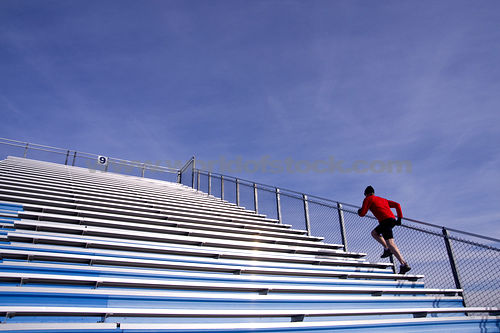 Running Up Steps