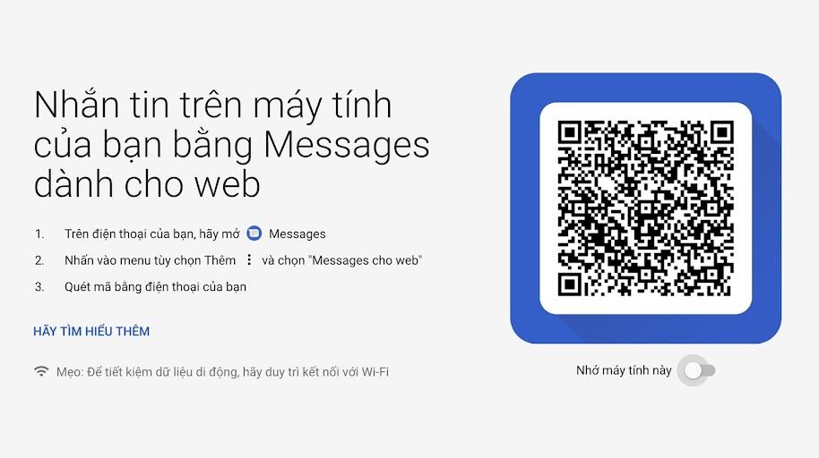 Cách gửi tin nhắn từ máy tính đến điện thoại android