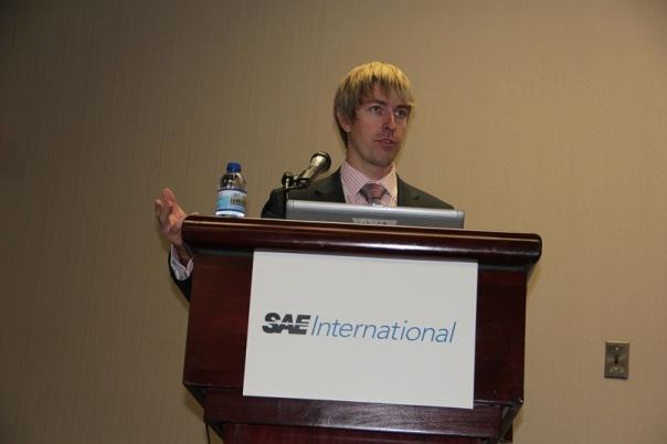 Alex Lesli Pua Speaks At Sae International, Alex Lesley