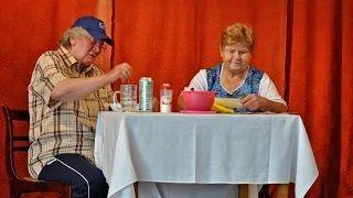 Somogysárd Ezüstfenyő Nyugdíjas Klub - Jelenet