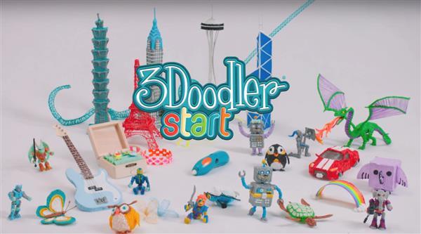 Новая ручка для 3D печати: 3Doodler Start для детей