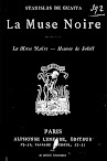 La Muse Noire (1883,in French)