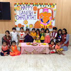 Playgroup and Nursery Section ( 2016-17 ) celebrated Ganesh festival at Witty World, Bangur Nagar