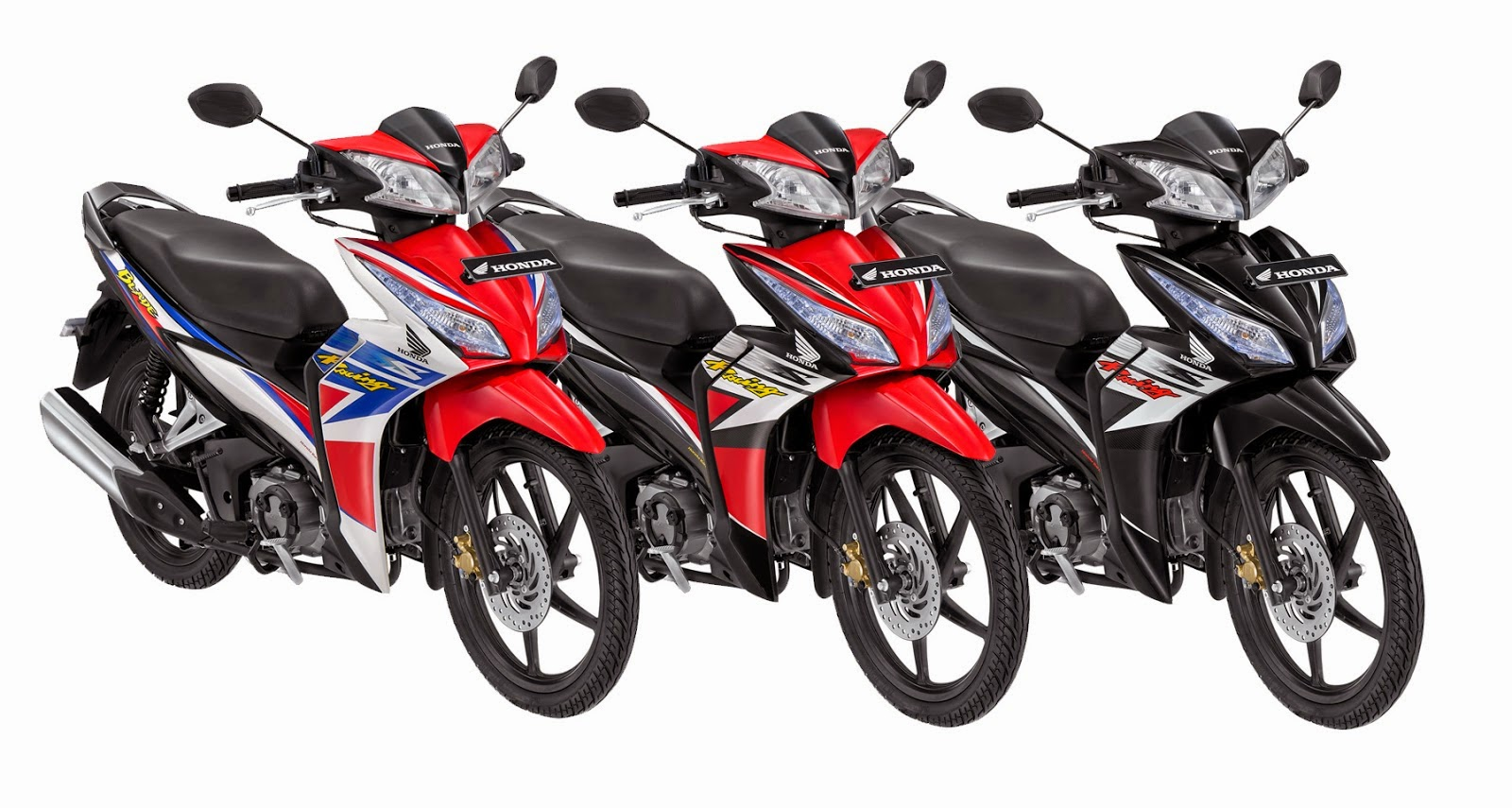 Modifikasi Motor Honda Blade Road Race