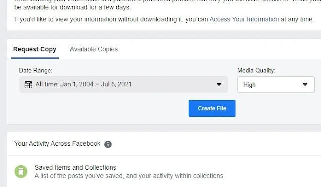 كيفية تنزيل محفوظات الدردشة على Facebook لحفظ معلومات Facebook بشكل آمن
