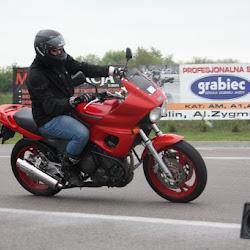Fotki z jazd motocyklowych organizowanych przez Moto-Sekcję w dniu 13 maja 2017r. na Torze ODTJ Lublin