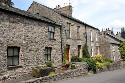 Houses in Ravenstonedale in Cumbria England